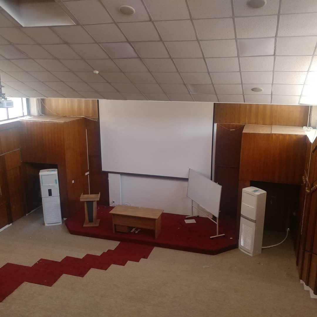 سالن همایش دانشگاه سلیمانیه کردستان عراق